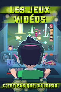 Code Triche League of Gamers Be an Esports Legend Idle Game APK MOD Astuce 1